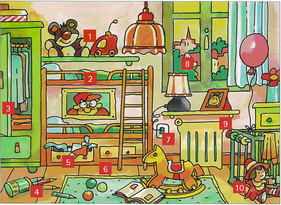 Exercices english for all - Dibujo habitacion infantil ...